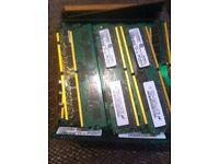 Joblot 120 1gb ram sticks