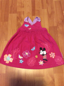 Many different Baby Girl dresses, size 12 months