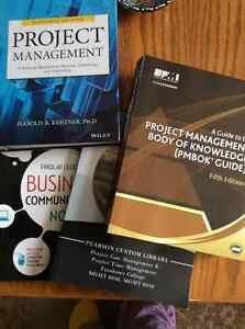 Project Management Textbooks -$400 OBO