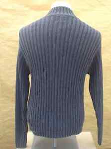 Men's GAP high neck grey knitted sweater - size M Cambridge Kitchener Area image 4