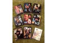 24 complete series on DVD, all 8 box sets plus Redemption movie