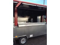 """24x7'6"""" Wilkinson catering trailer bought new and fitted out 2010"""