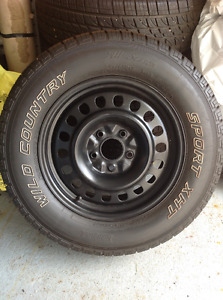 4 - 245/65R17 M+6 Wild Country Sport XHT