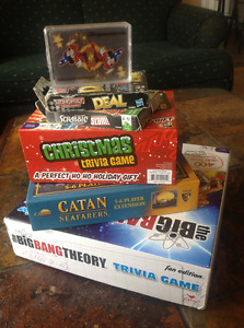 Lot of games including Catan expansion REDUCED PRICE