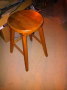 Wooden bar  stool London Ontario image 2