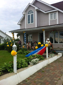 Maison 4 chambres TRACADIE
