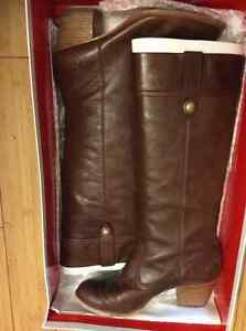 Coach leather boots size 8.5
