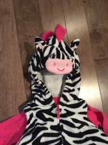 Carters 3pc Zebra Halloween costume