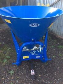 Tractor fertiliser spinner 500 litre