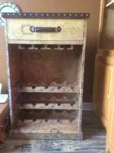 Wine cabinet in oldworld style