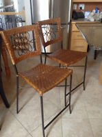 Two counter stool