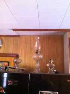 3 old lamps