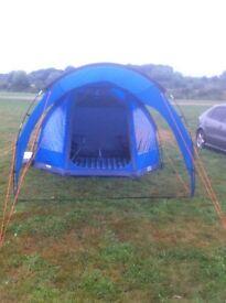 Vango talos 4 man tent and accessories