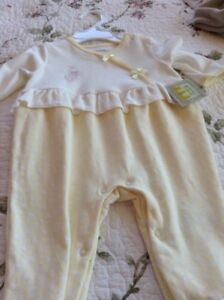 Five brand new baby outfits
