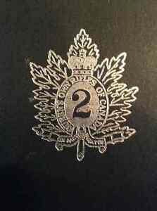 The Queens Own R_____ of Canada 1860-1960 (please see below)