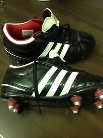 Good Adidas football boots , size 1, in good / clean condition.