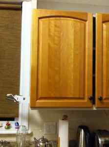 Solid birch kitchen doors and drawer fronts