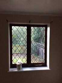 Hardwood mahogany double glazed windows