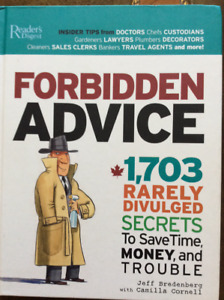 Forbidden Advice Readers Digest
