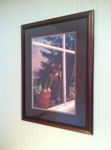 Carol Evans Signed Limited Edition Print for Cat Lovers - Moshe Prince George British Columbia image 1