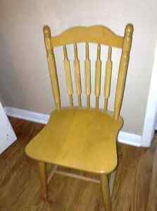 Solid wood chair for sale