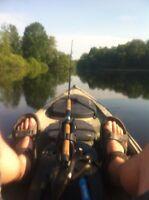 Modified Ocean Kayak Trident 13