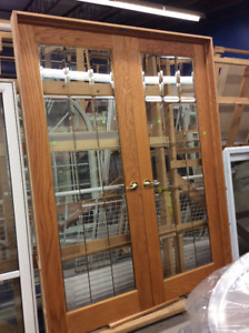 French Doors with Frame