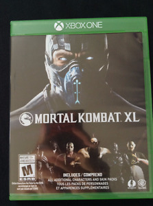 Mortal Kombat XL Xbox One Game Excellent Condition