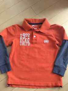 Boys orange shirt size 4