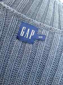 Men's GAP high neck grey knitted sweater - size M Cambridge Kitchener Area image 5