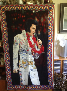 ELVIS large cloth wall hanging 53 in. by 33 in.  $20