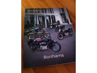 Bonhams Auction catalogue motorcycles
