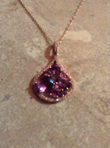 14KT rose gold. Pendant and 18' chain