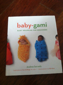 Swaddle blankets and instruction book