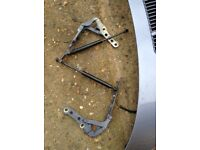 BMW E46 bonnet hinges genuine BMW parts