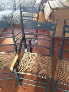 Chaises paysannes en siege de babiche fait par ébéniste - Gatineau Ottawa / Gatineau Area image 6
