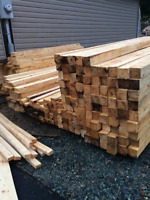 Local sawmill with some rough lumber!