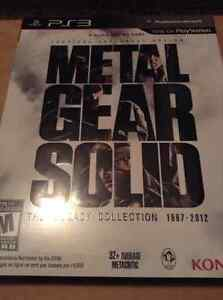 Metal Gear Solid: Phantom Pain CE &  Legacy Collection (BOTH NEW
