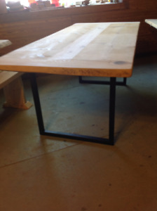 Reclaimed Wood Table from our Showroom