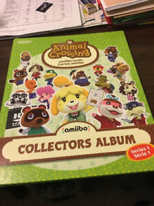 Animal Crossing amiibo cards collector's album (Series 1)
