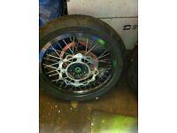 Supermoto wheels motorcycle wheels