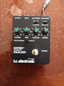 T.C. electronic compressor + sustainer