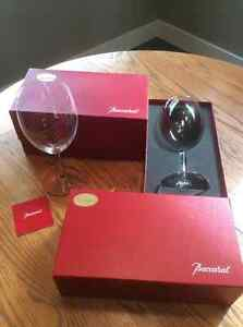 Baccarat Bordeaux wine glasses........