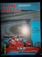 Vintage Nascar, Grand Prix Racing Program Magazines, 1978-2004