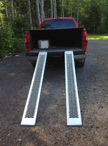 New Truck Ramps - used once