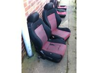 Vw golf mk4 recaro seats (4 door)