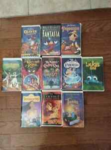 11 Disney VHS TAPES