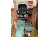ICandy Apple Pushchair and Carrycot plus extras
