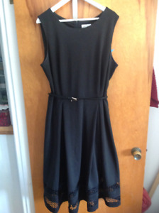 2X, Calvin Klein dress - 2 X, robe Calvin klein