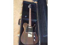 (RARE GUITAR!) Rosewood Fender Telecaster